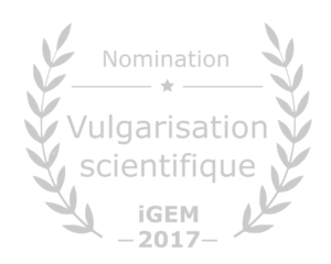Nomination vulgarisation scientifique iGEM 2017